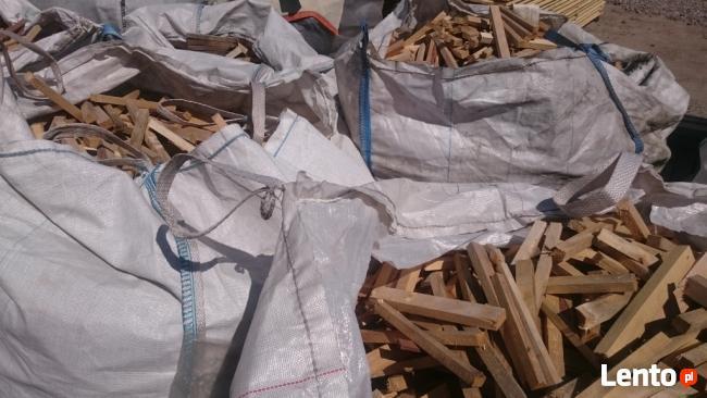 Drewno opałowe do rozpałki, miękkie, big bag, rozpałka, drze