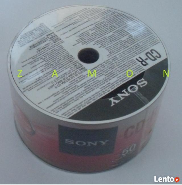 Płyty CD-R SONY 50 sztuk