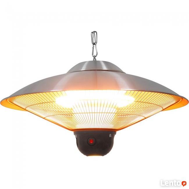 Wisząca lampa grzewcza halogenowa zdalniesterowana 2,1kW