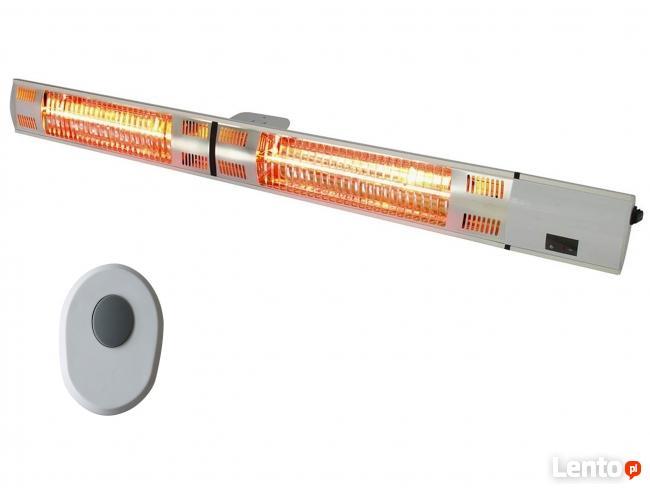 Ścienna lampa grzewcza na taras 105cm 3kW + pilot