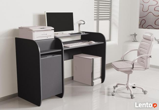 Wygodne Biurko Detalion z miejscem na drukarkę do biura