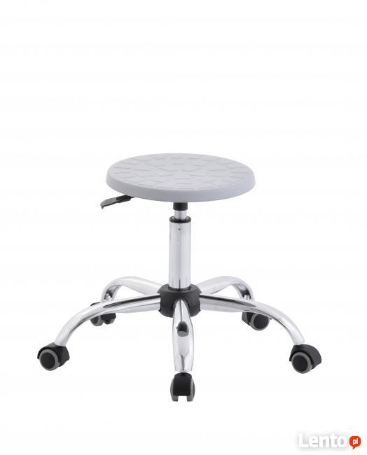 Krzesła laboratoryjne, taborety warsztatowe