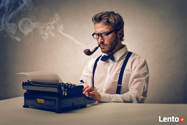 Copywriter podejmie zlecenia z zakresu PR & marketing.