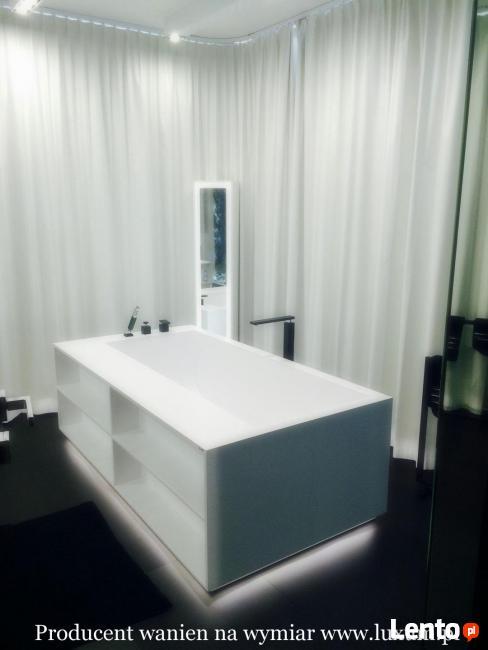 Wanny brodziki umywalki wielostanowiskowe blaty kompozytowe