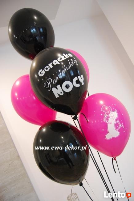 balony, dekoracja balonowa, brama z balonów, hel do balonów