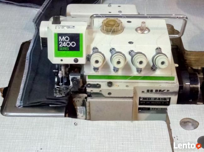 Maszyna doszycia OWERLOK JUKI 2416 OWERLOCK Overlok Overlock