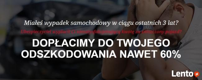 NAJWIĘKSZE DOPŁATY DO ODSZKODOWAŃ Z OC / GOTÓWKA 48h