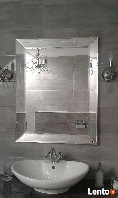 Lustro w lustrzanej ramie 60x100