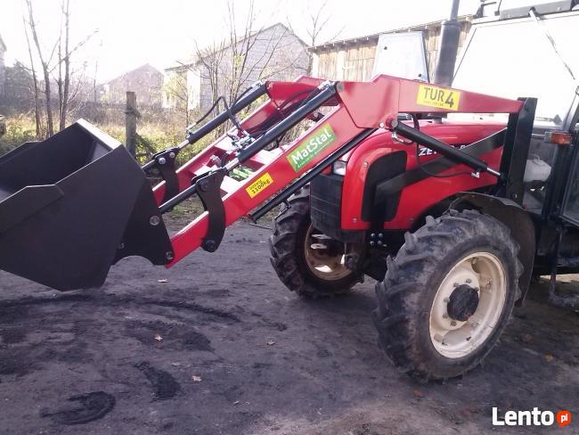 ZETOR 5340 i inne Ładowacz TUR euroramka 1100 kg