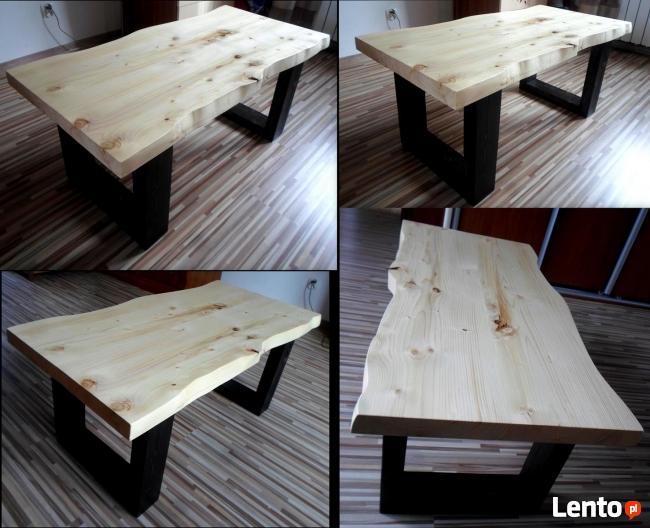 stolik stół kawowy ława NA WYMIAR z drewna drewniany
