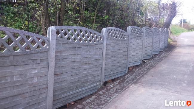 Ogrodzenie betonowe sprzedaż produkcja