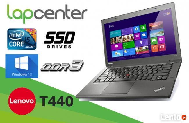 Lenovo ThinkPad T440 I5-4GEN 8GB RAM 240 SSD - LapCenter.pl