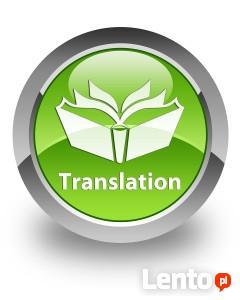 Profesjonalne tłumaczenia, język angielski, faktura VAT