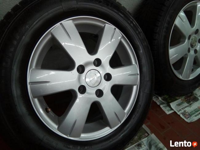 Archiwalne Alufelgi Komplet Opony Zimowe Vw Audi Skoda 75mm Jak