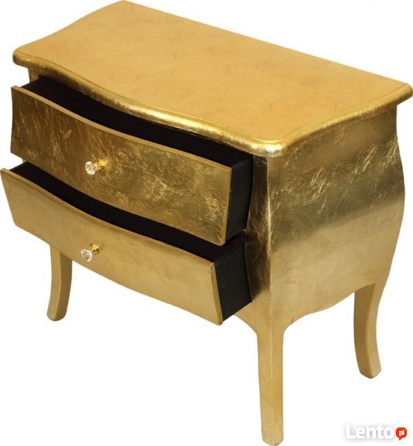 złota stylizowana komoda szafka