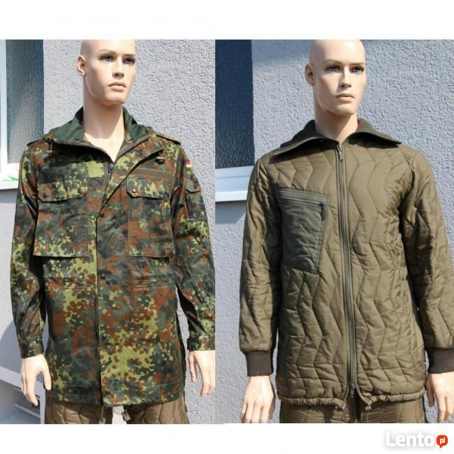 kurtki wojskowe zimowe Bundeswehra kapturem Sklep Ciechanów