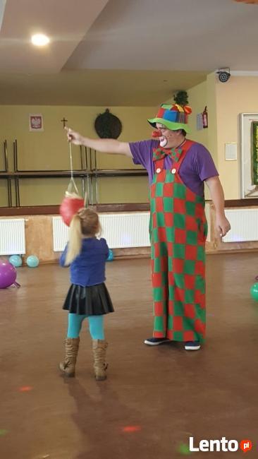 Klaun- urodziny dla dzieci - najlepiej na Śląsku