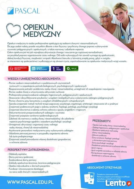 Bezpłatny kierunek Opiekun Medyczny
