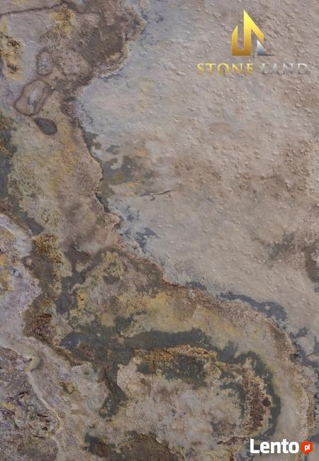 Fornir kamienny jasny Indian Autumn na ścianę