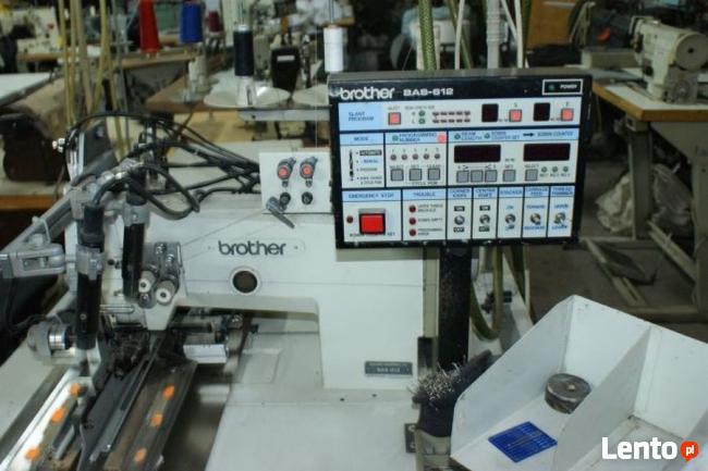 Maszyna Automat BROTHER BAS 612 do Naszywania Kieszeni