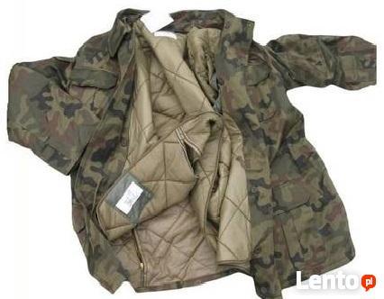 Wojskowa zimowa kurtka WP bechatka Sklep