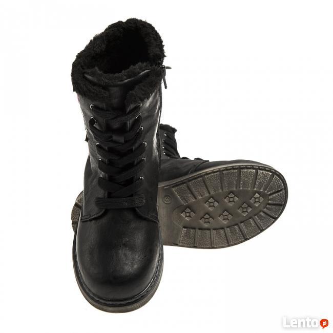 Buty zimowe dla dziewczynki rozmiar 30