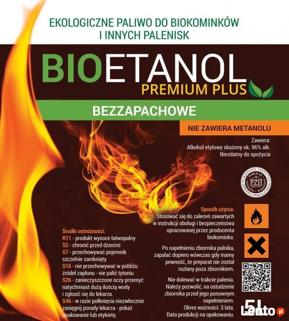 Biopaliwo Bioetanol Paliwo Do Biokominków 5l Bezzapachowe