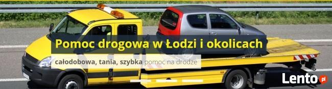 Pomoc drogowa w Łodzi, holowanie i transport24h