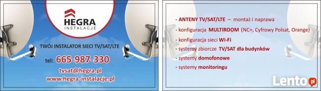 Anteny TV SAT TANIO MONTAŻ Anten bezawaryjnie 4K