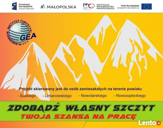 Staż 1770 zł - netto- powiat nowotarski + szkolenia