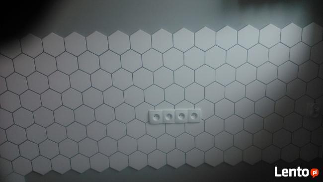 hexagony układam