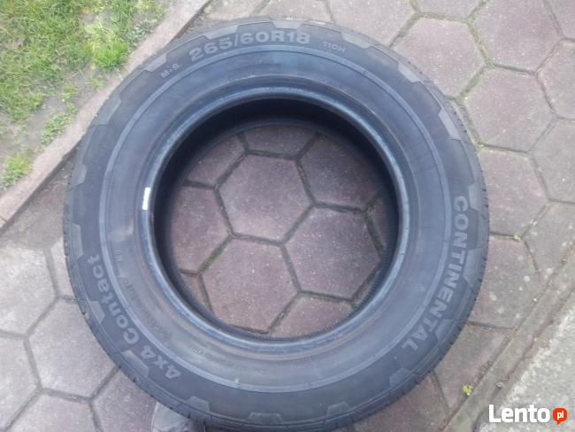 4 opony Continental 4x4WinterContact 265/60 R18 110H