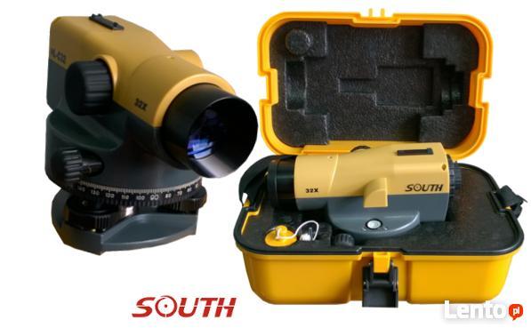 Niwelator budowlany optyczny SOUTH NL-C32 + łata i statyw