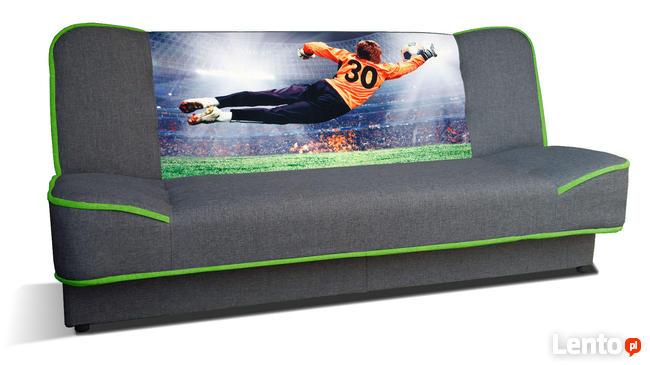 Zaktualizowano Kanapa WERA wersalka rozkładana młodzieżowa łóżko sofa RIBES Warszawa JT46