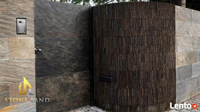 CALIFORNIA GOLD nowoczesna tapeta ścienna z kamienia