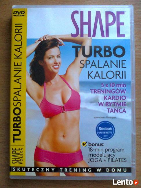Ćwiczenia odchudzające DVD SHAPE Turbo spalanie kalorii