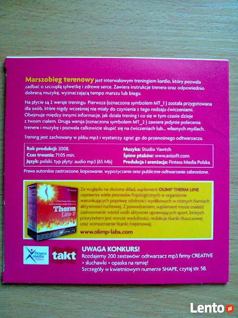 Ćwiczenia odchudzające DVD SHAPE kardio marszobieg terenowy