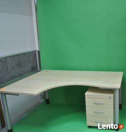Zestaw mebli Wuteh (biurko + kontener) - dostępne 100 kpl.