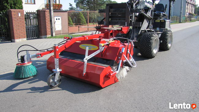 Zamiatarka z koszem 600/1500 do wózka widłowego, ładowarki