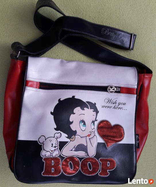 Młodzieżowa torba na ramie oryginał Bethy Boop