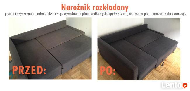 Czyszczenie i impregnacja tapicerki skórzanej / Kraków