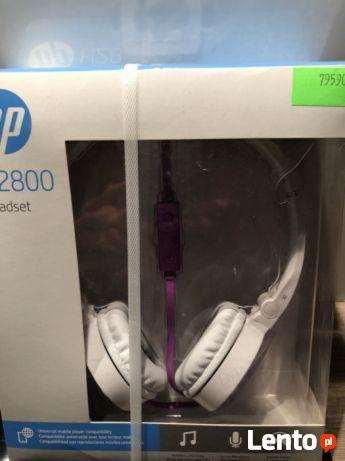 Słuchawki nauszne hp h2800 róż/fiolet