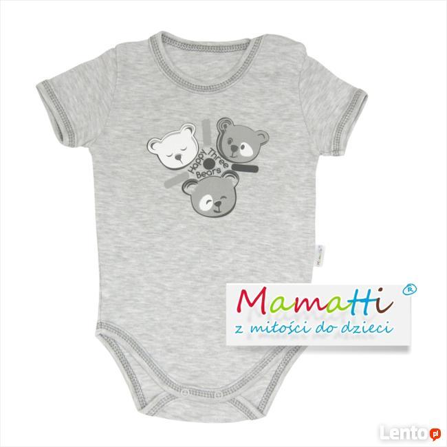 Body dla niemowlaka od polskiego producenta Mamatti