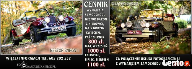 Samochody Ślubne Radom Kielce Świętokrzyskie Wesele