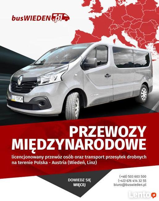 Przewozy Bus do Wiedeń Linz Sankt Polten Czechy Brno Ostrowi