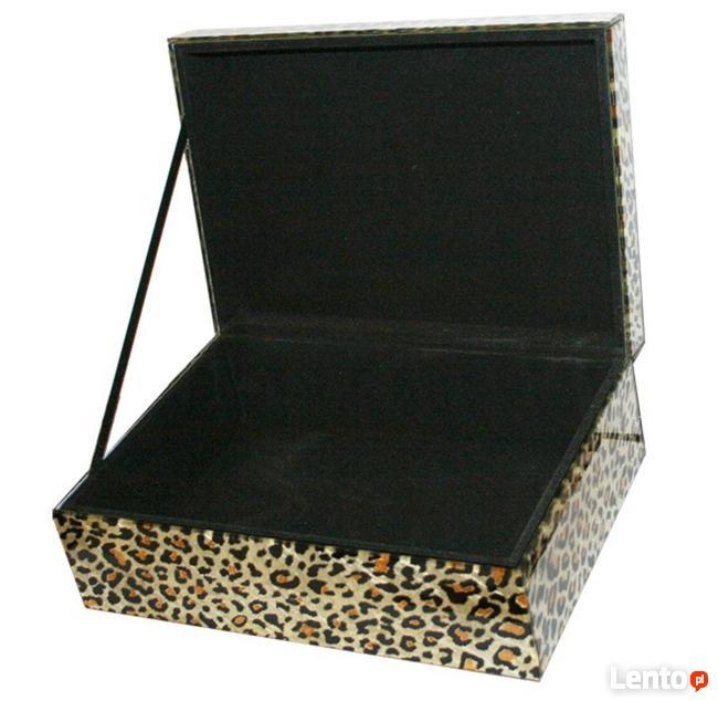 Elegancka szkatuła na biżuterię