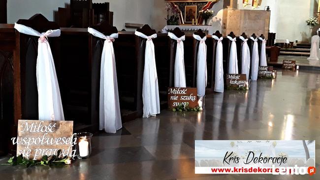 Dekoracje ślubne Weselne Małopolska Promocje Przysieki