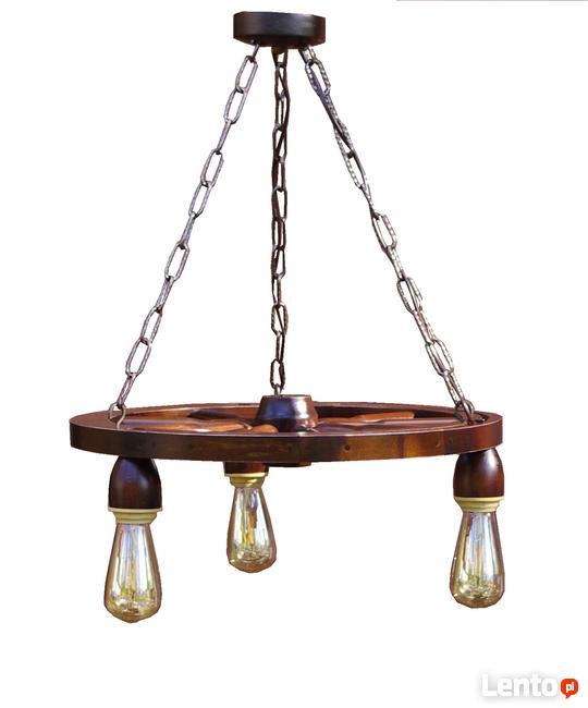 Lampa żyrandol Do Altany Karczmy Sucha Beskidzka
