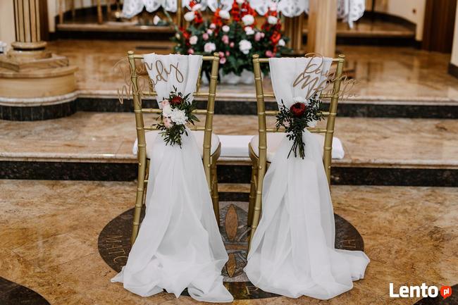 Dekoracje ślubne Weselne Sali Weselnej Kościoła Podkarpacie Rzeszów