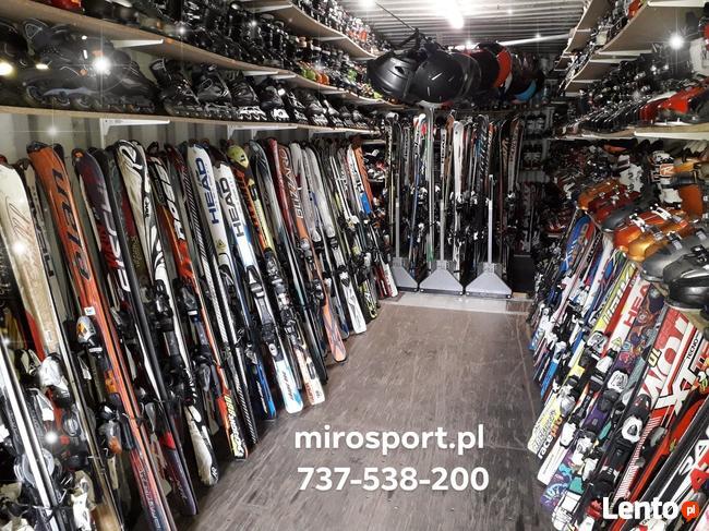 Narty buty narciarskie